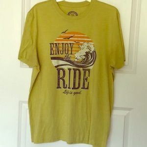 Life is Good/ Enjoy the Ride Graphic Tee